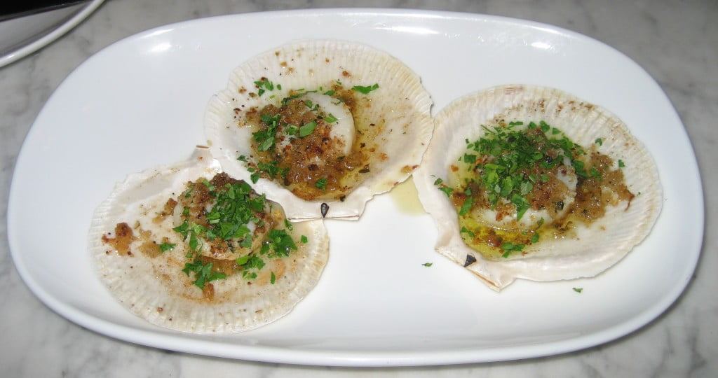 berta scallops sugna breadcrumbs