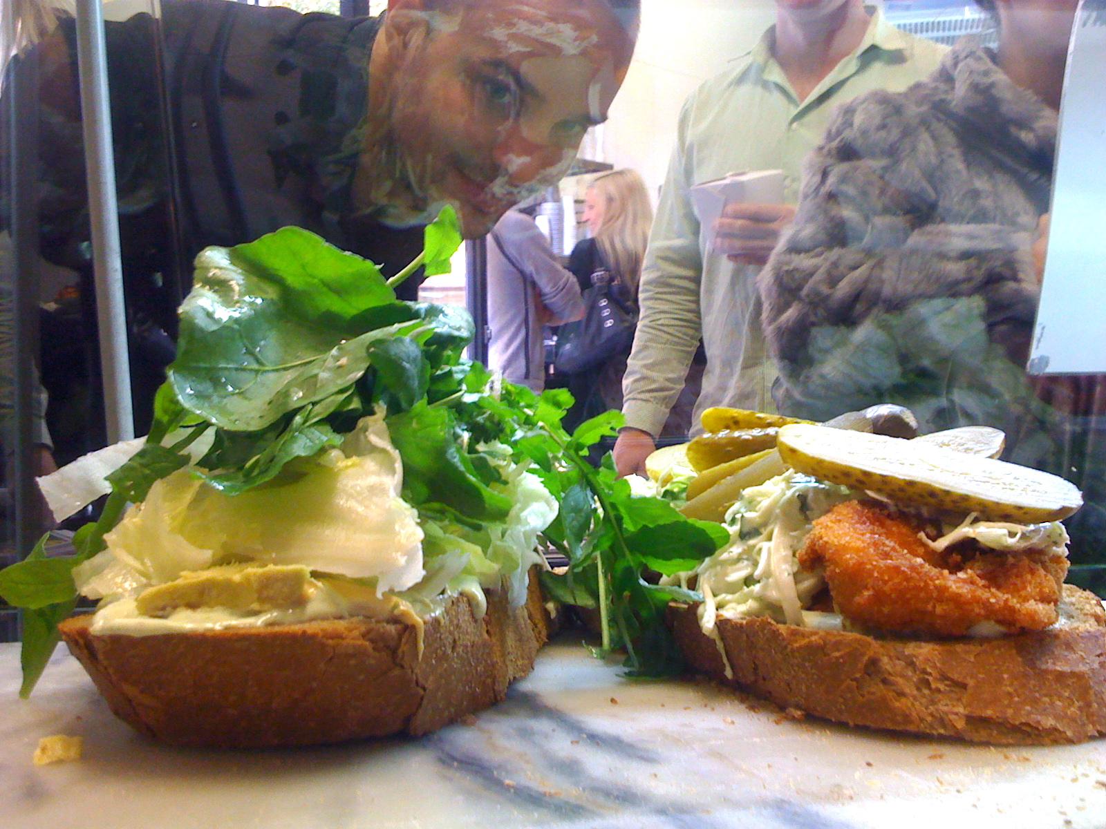 You've never had a sandwich like the one at Malibu Malibu Sandwich Bar before