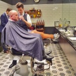 spaQ Barber Shop with MJ Bale dressed shaveologists