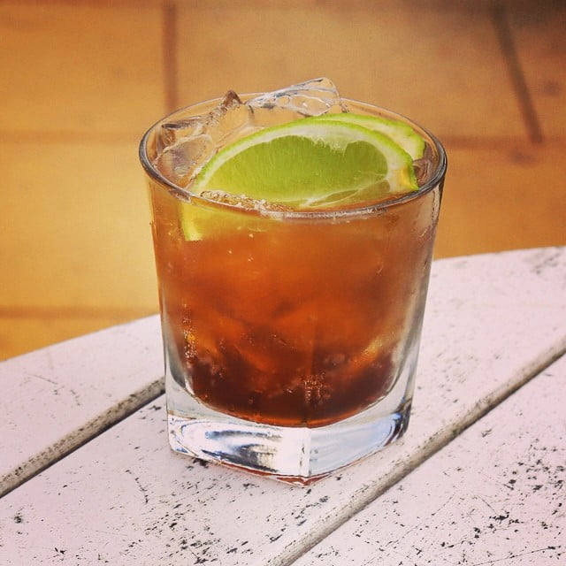 Appleton Estate Rum cocktail cuba libre