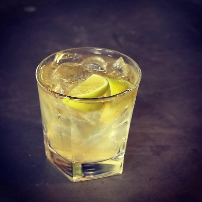 Appleton Estate Rum cocktail dark and stormy