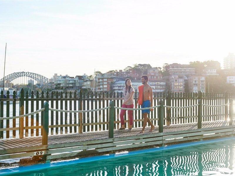 MacCallum Pool swimming Sydney