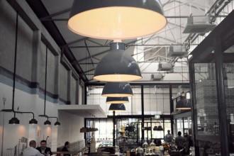 Gordon St. Garage interior.