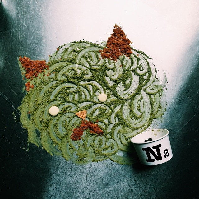 matcha tea- N2 Gelato