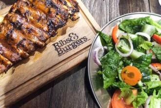 ribs and burgers board
