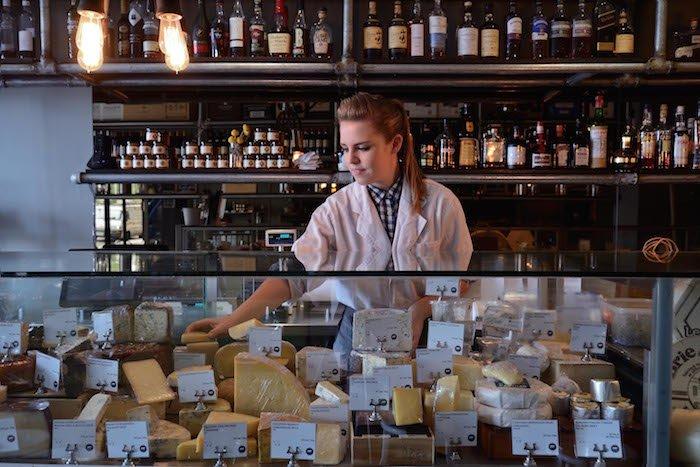 Head Cheesemonger Laura Lowe.