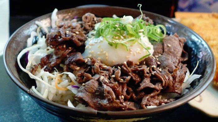 'Ontama BBQ beef bowl' - Oiden Bowl Bar
