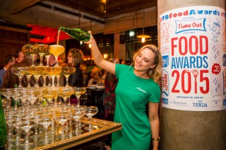 Time Out Sydney Food Awards 2015 at the The Morrison Bar and Oyster Room, Sydney on August 24, 2015. Photo by Anna Kucera