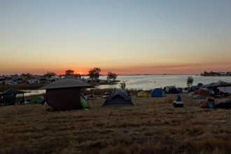 Symbiosis Gathering Sunset