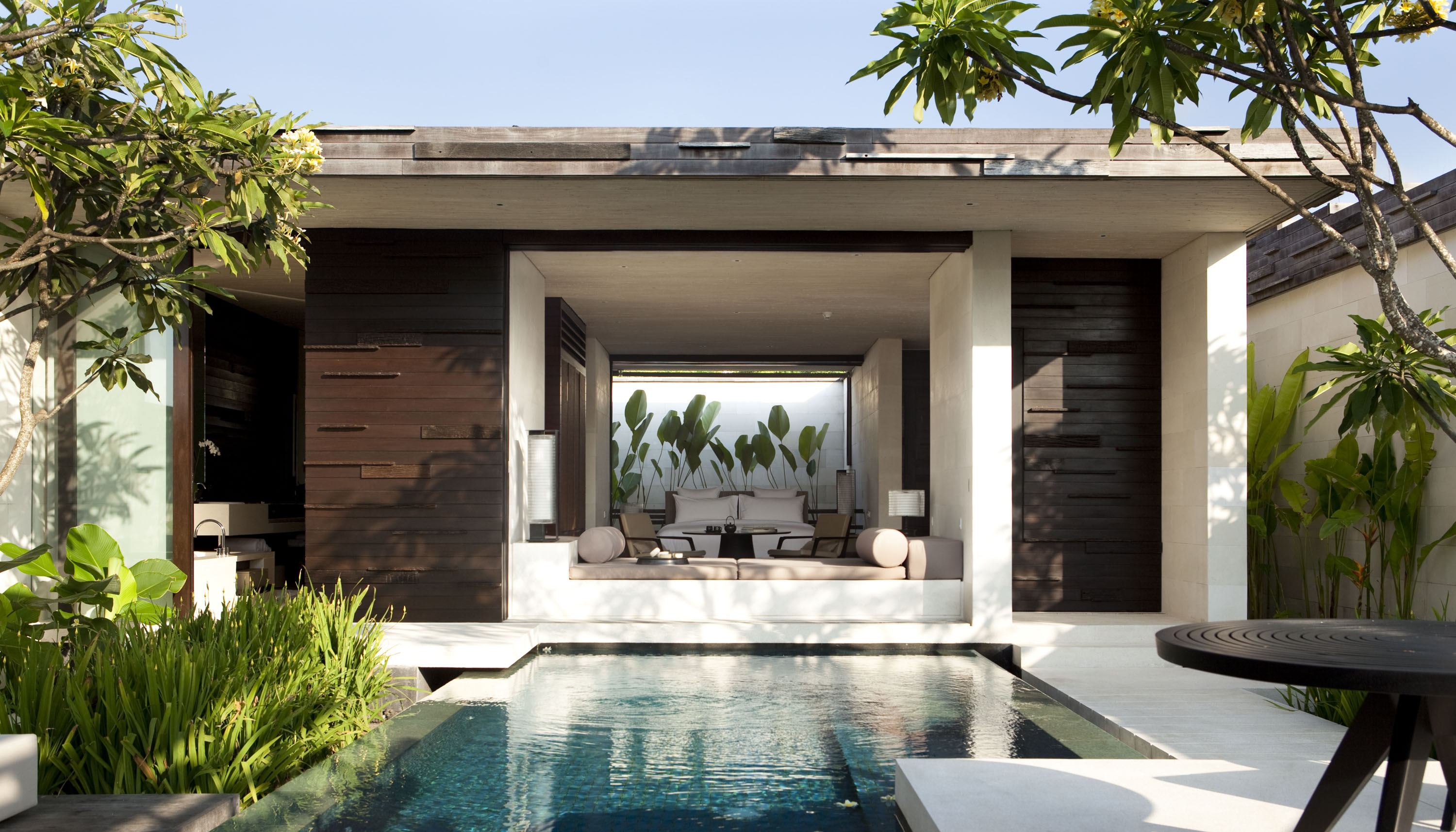 Villa hopping in bali eat drink play for Pool exterior design