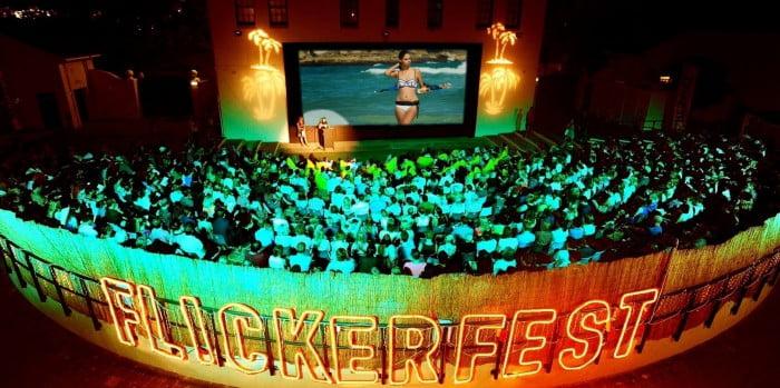Outdoor cinemas Flickerfest