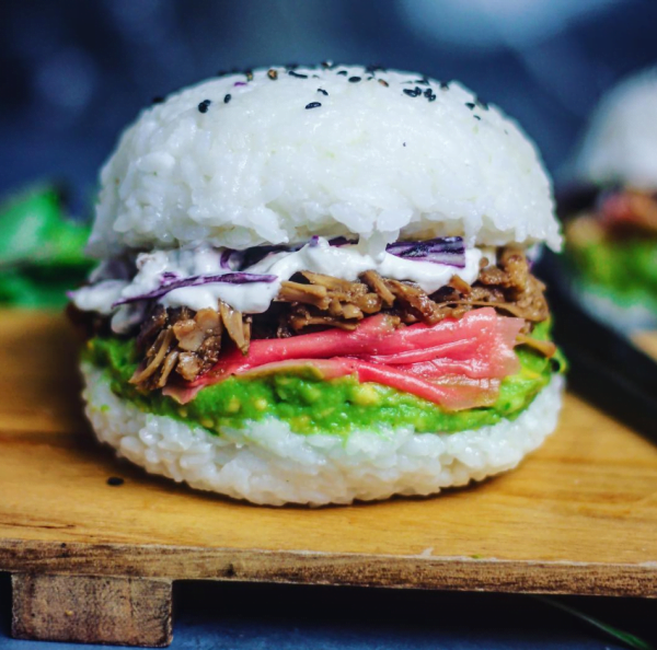 sushi burger crazy food