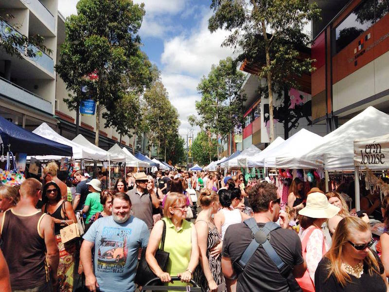 Sydney's boutique fashion markets