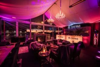 Chivas lodge, winter pop up bar sydney