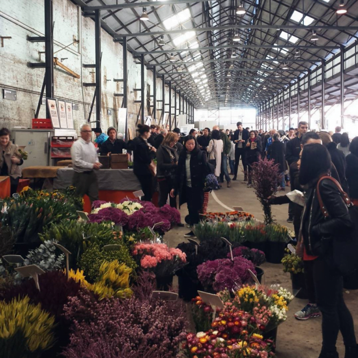 Carriageworks Farmers Markets Guide Flowers