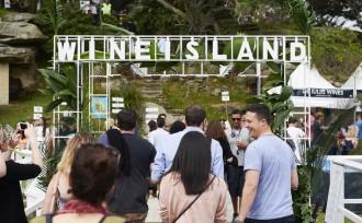 wine island festival entry