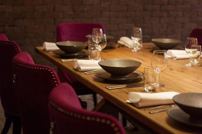 Rawsons Restaurant - table