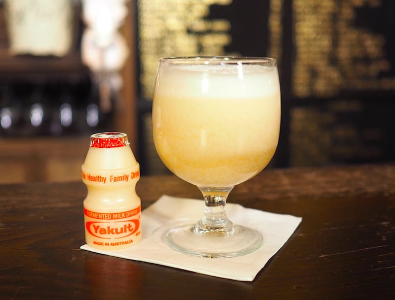 bar tag yakult cocktail