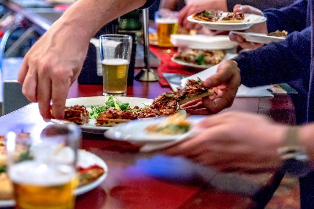 Annual Australian Beer Festival food