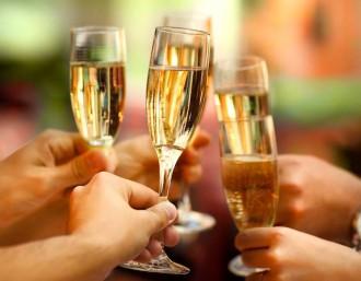 Sparkling Wine Festival Champagne Glasses