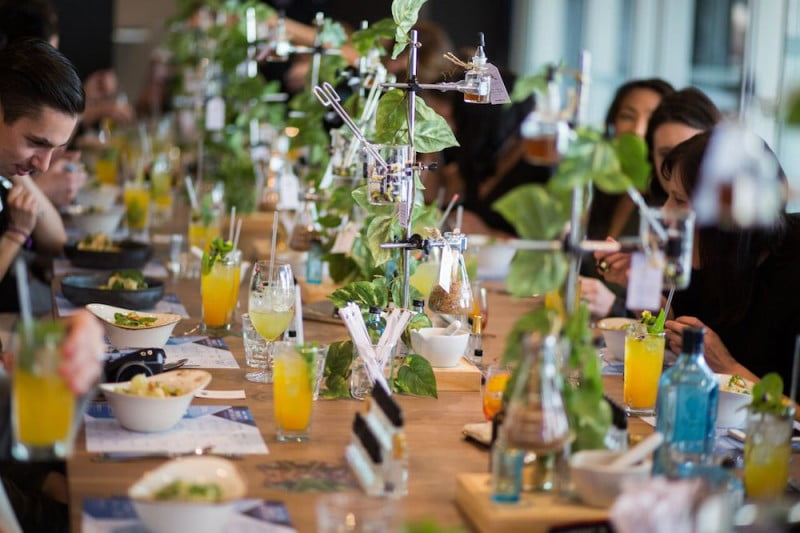 Bombay Sapphire Project Botanicals Melbourne Eat Drink Play