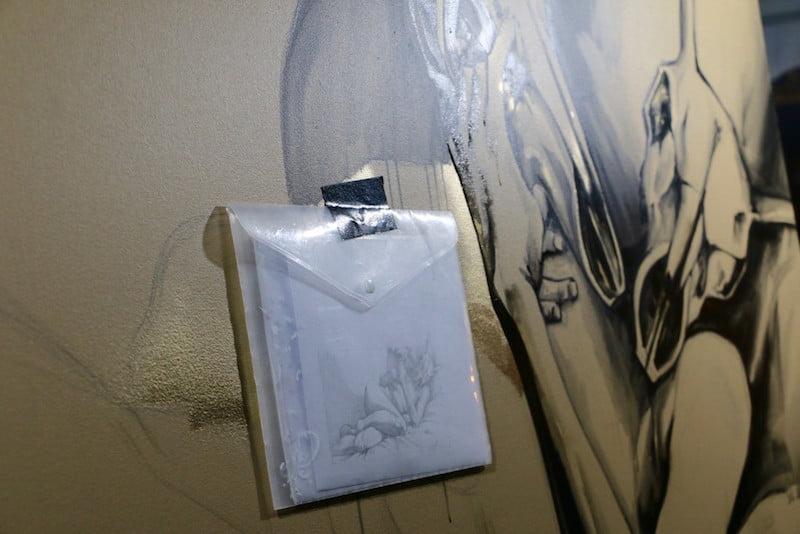 Project Five ambush gallery painting