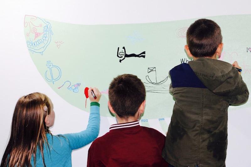 Project Five ambush gallery children painting