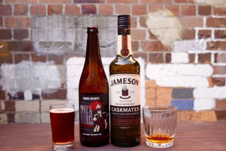 Craic & Barrel and Jameson boilermaker
