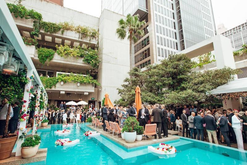 Sydney rooftop bars ivy pool club