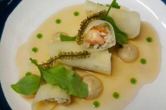 spanner crab dish