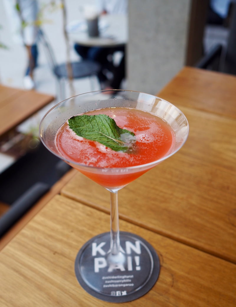 Zushi Baragaroo cocktail