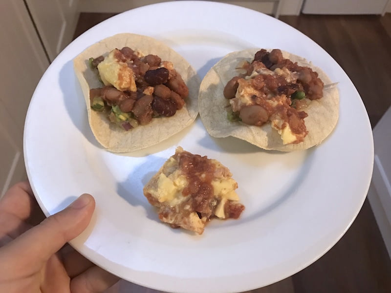 eat fit food burrito