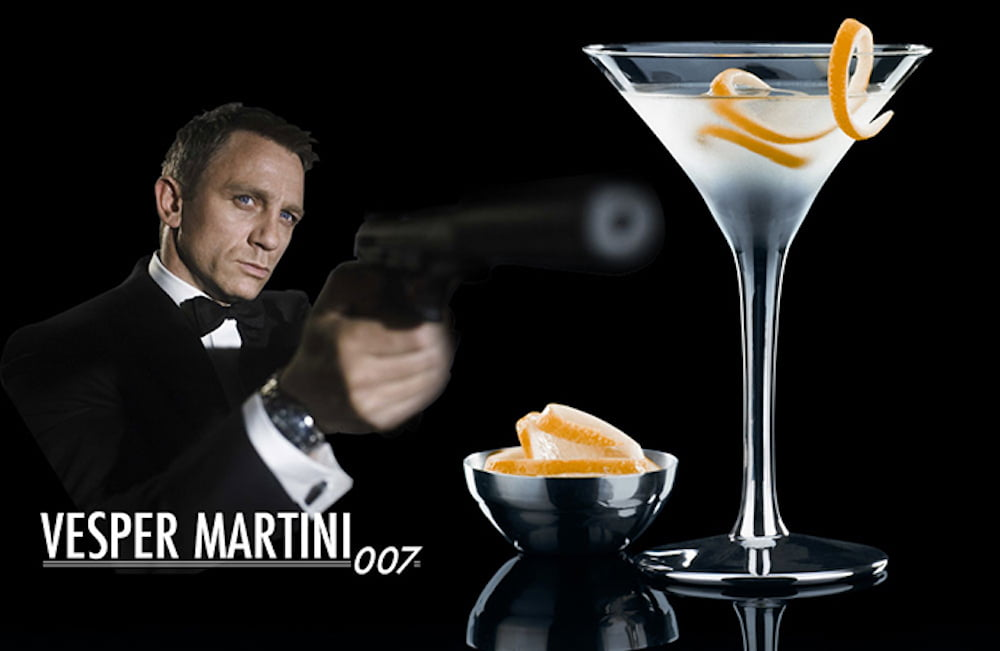 5 healthier lighter cocktail recipes eat drink play for Cocktail 007 bond
