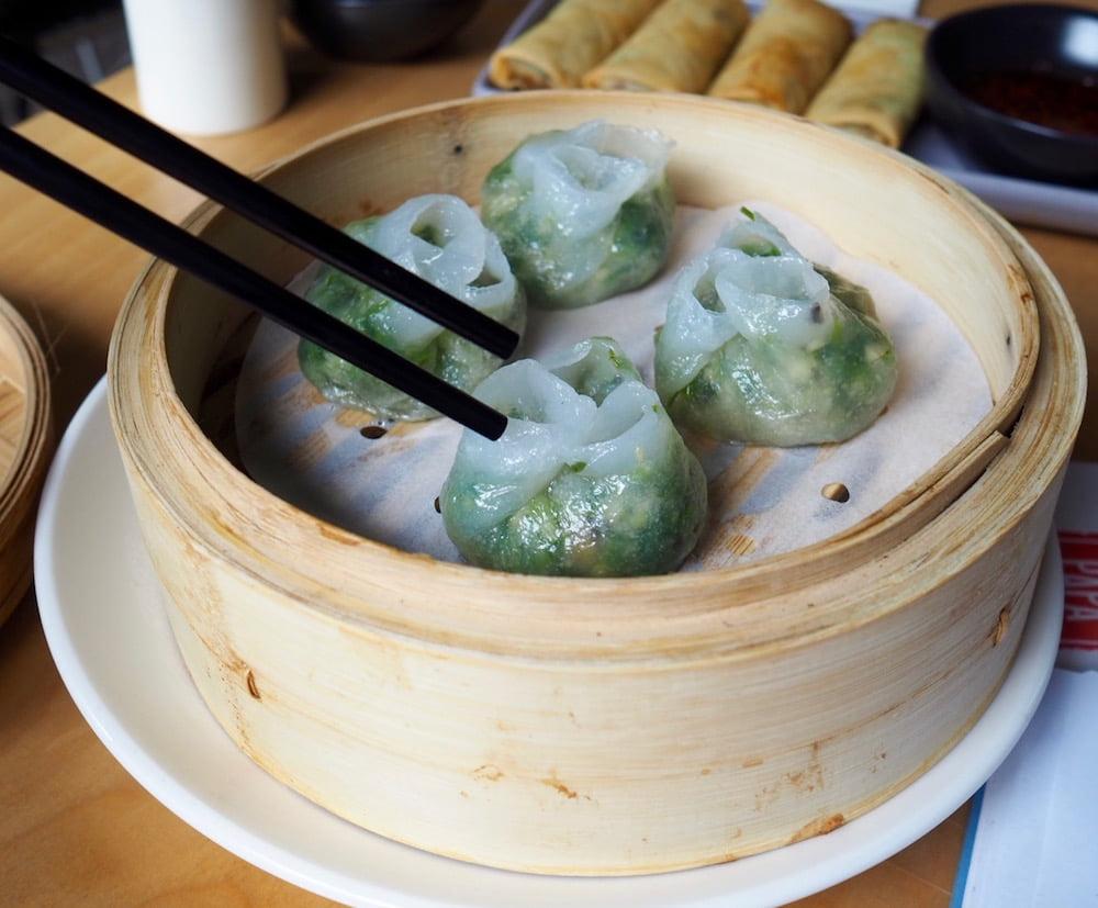 papa bo min dumplings