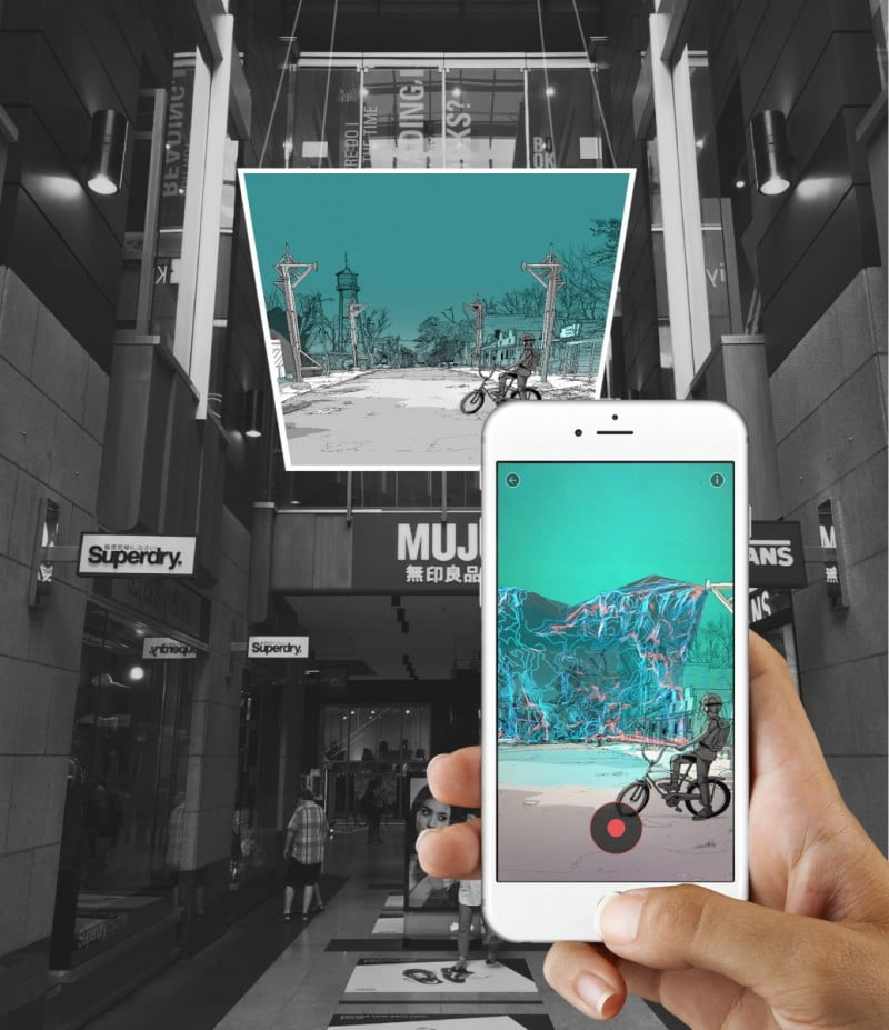 Artist's Playground Eyejack augmented reality