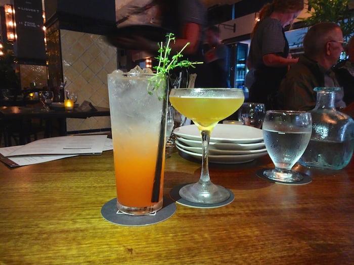 Potts Point Hotel cocktails