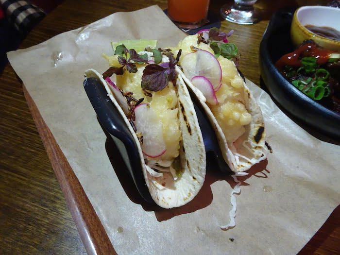 Potts Point Hotel fish tacos