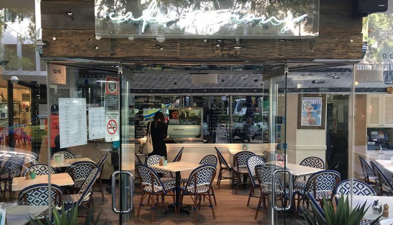 Café Perons - Interior