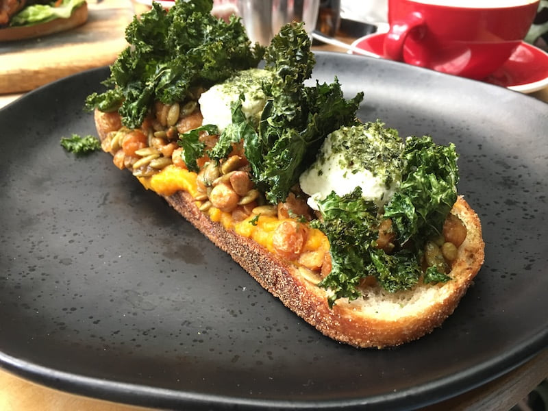 Devon Cafe Bruschetta