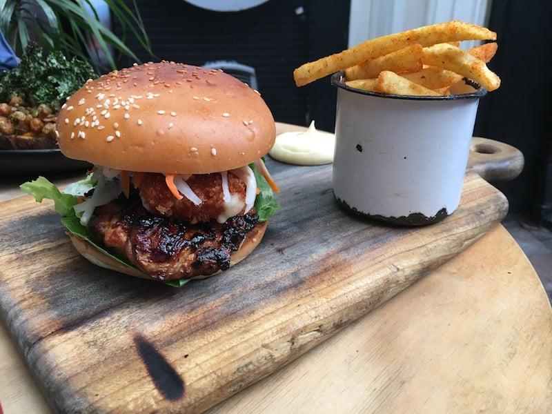 Devon Cafe Chicken Burger