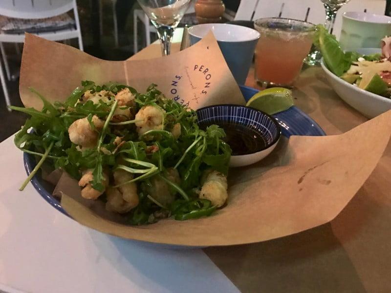 Café Perons - South Oz. Calamari