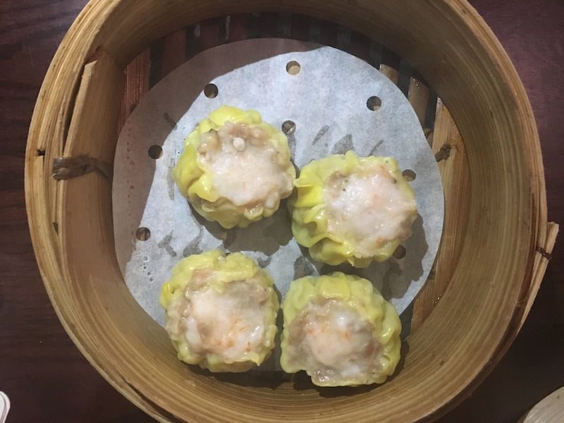 Burwood Hotel dumplings