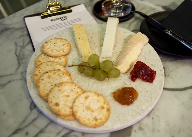blown lux barangaroo cheese board