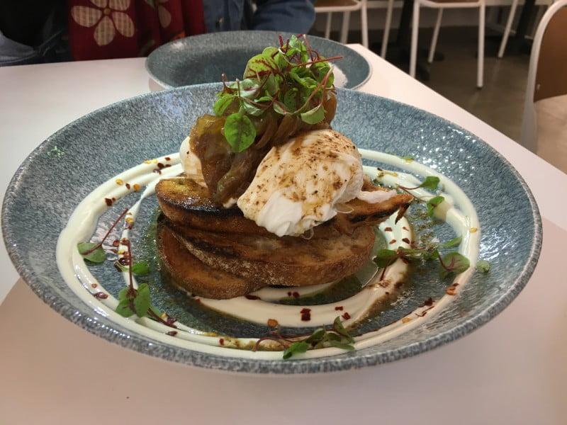 Anvil Café & Grocer Arabian eggs