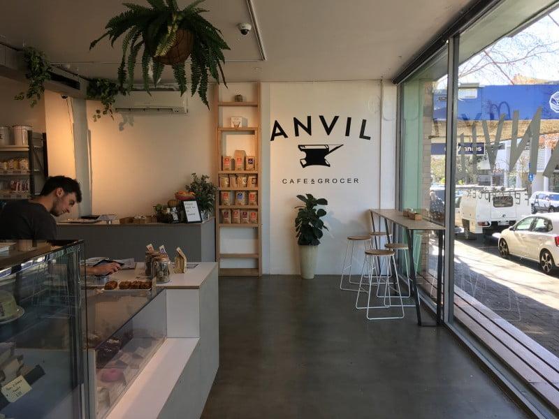 Anvil Café & Grocer interior