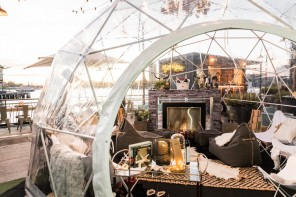 Pop-up Igloo Bars Have Arrived in Sydney Harbour
