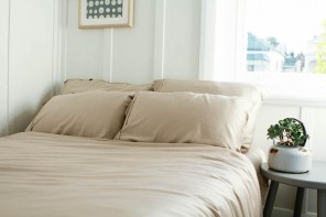 Ettitude Launch Bedsheets Made Out of Coffee