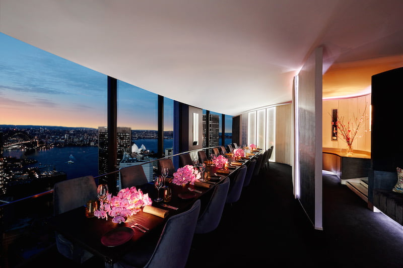 Sydney private dining rooms eat drink play for Best dining rooms in sydney