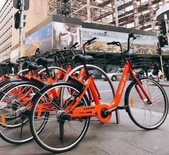 bicycles sharing app