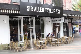 sir allen taylor